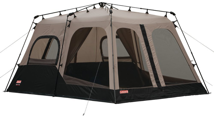 coleman 10 person instant tent instructions