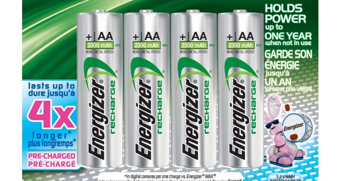 Best Rechargeable Batteries 2019 Top 10 Best Rechargeable AA Batteries of 2019   Reviews